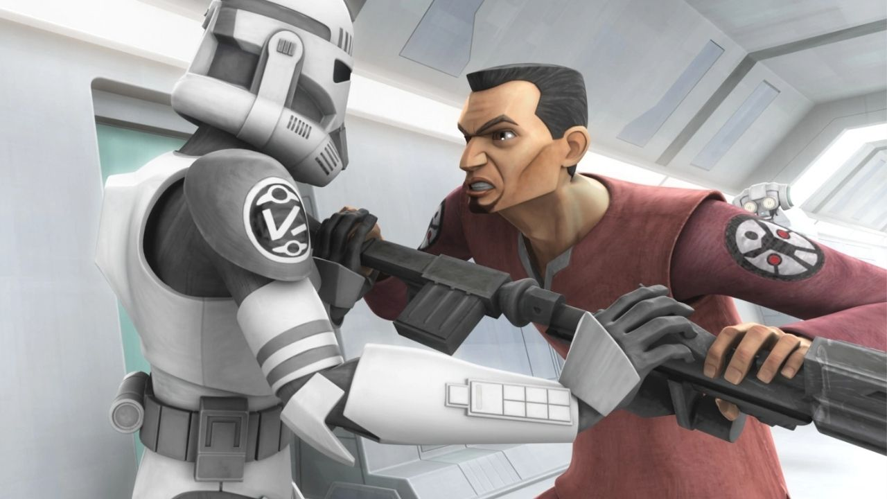 Why did Fives Go Crazy in Clone Wars?
